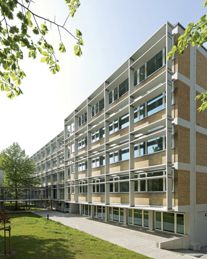 Rehabilitation of the Research Center for Biodiversity and Climate (BiK-F), Frankfurt am Main