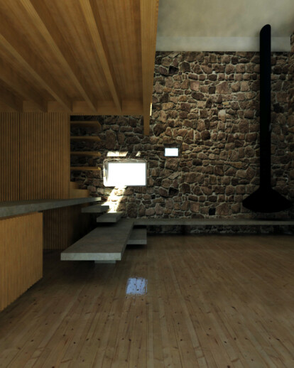 Refurbishment of a traditional stone house