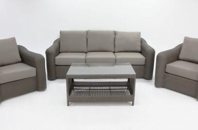 Palmas Premium Lounge Setting with Sunbrella Cushions