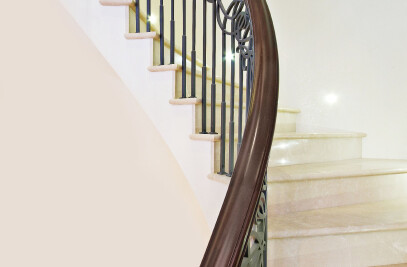 Chesterfield Hill - Traditional Helical Staircase
