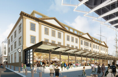SHoP proposal for the Seaport District