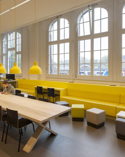 Renovation Metis Montessorischool Oosterpark Amsterdam