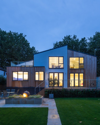 Blackett House - Efficiency of Timber Frame
