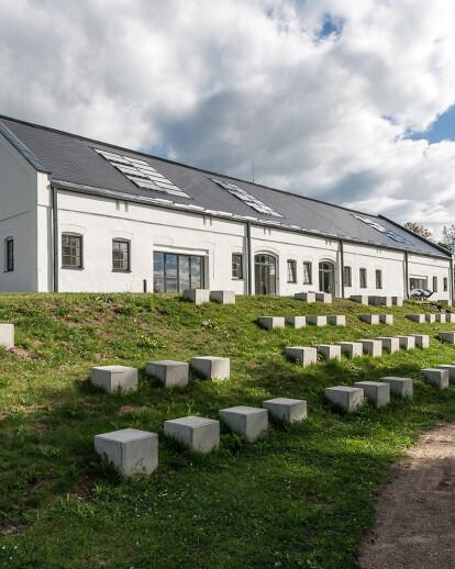 Coach-house reconstruction of Rietavas manor