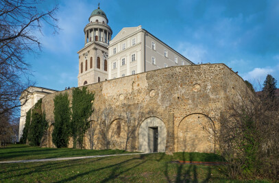 New Visitor Entrance • Benedictine Archabbey of Pannonhalma
