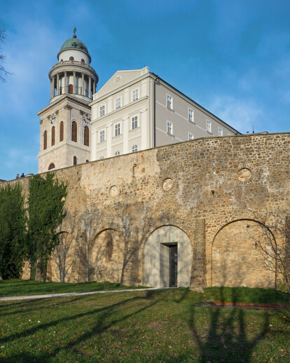 New Visitor Entrance • Benedictine Archabbey of Pannonhalma