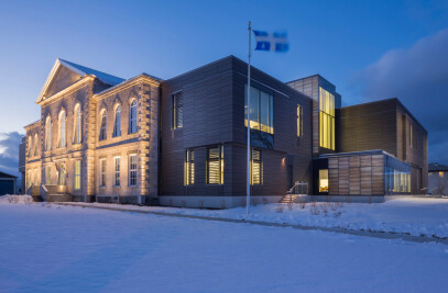 Quebec's Montmagny courthouse