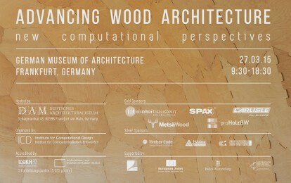 Advancing Wood Architecture Symposium