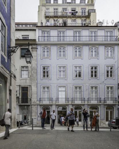 Pedestrian Assisted Path From Baixa to Castelo De São Jorge