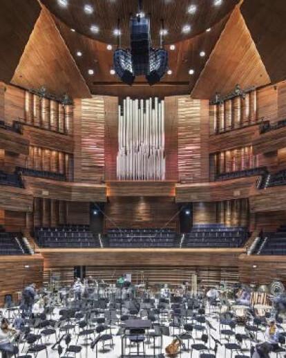 The Grand Auditorium of the Maison de la Radio  Architecture