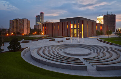 New venue of the Polish National Radio Symphony Orchestra, Katowice, Poland