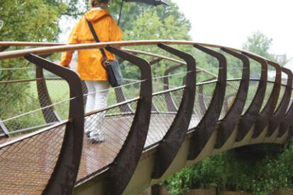 Shortline CorTen Single Bridge