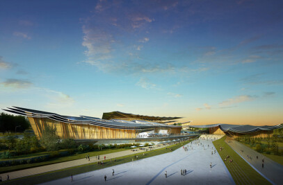 Design competition that includes five museums and a sports centre in Meishan