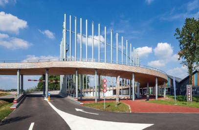 flyover Transferium A27 Nieuwegein