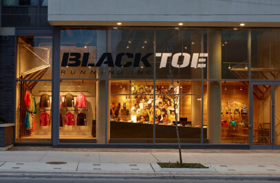 Black Toe Running store in downtown Toronto