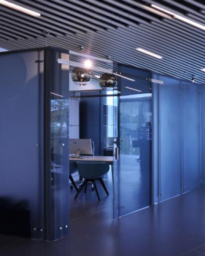 Greenwich Peninsula - Gateways Pavilions Marketing Suite - London UK