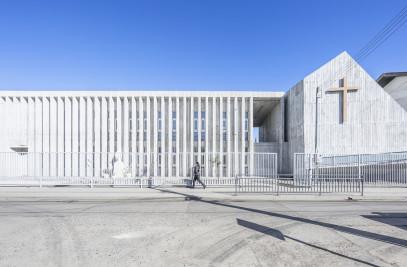 SANTA ROSA de Constitución School and Memorial