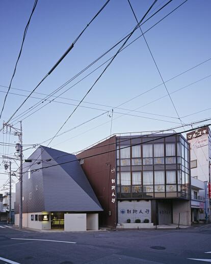 Tamakichi Mochiten (rice-cake shop・house)