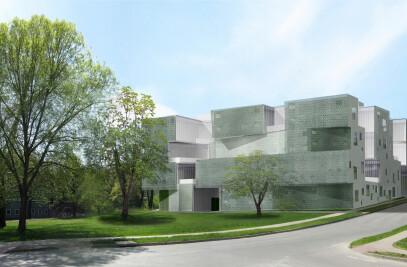 Visual Arts Building at University of Iowa