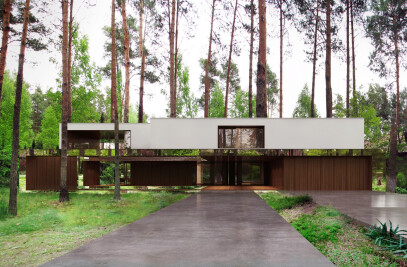 Izabelin House (Mirrored house)
