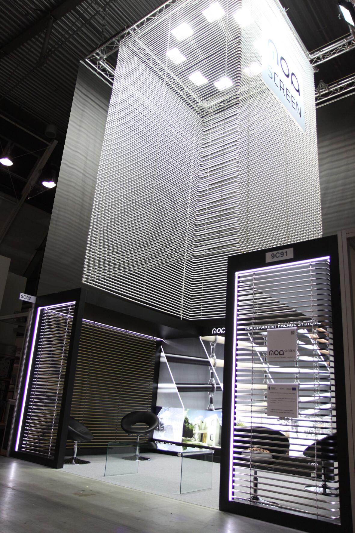 Exhibition Stand Architecture : Moa screen exhibition stand moa archello