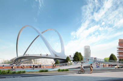 Nine Elms to Pimlico bridge competition