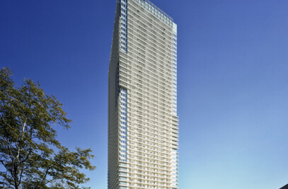 Two Harumi Residential Towers in Tokyo