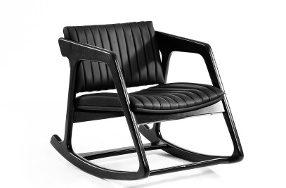 shorttail black // rocking chair