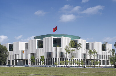 New Vietnamese National Assembly building in Hanoi