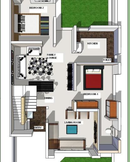 Residence Mr Dharampal