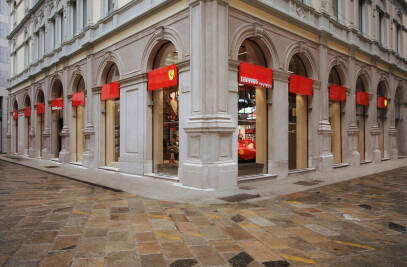 Ferrari Store opens new flagship in heart of Milan
