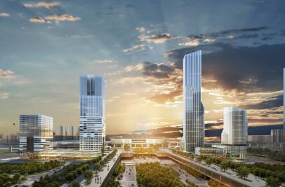 Plot D2 Shenzhen North Railway Station Hub Complex