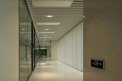 baffle ceiling tile use for corridor ceiling