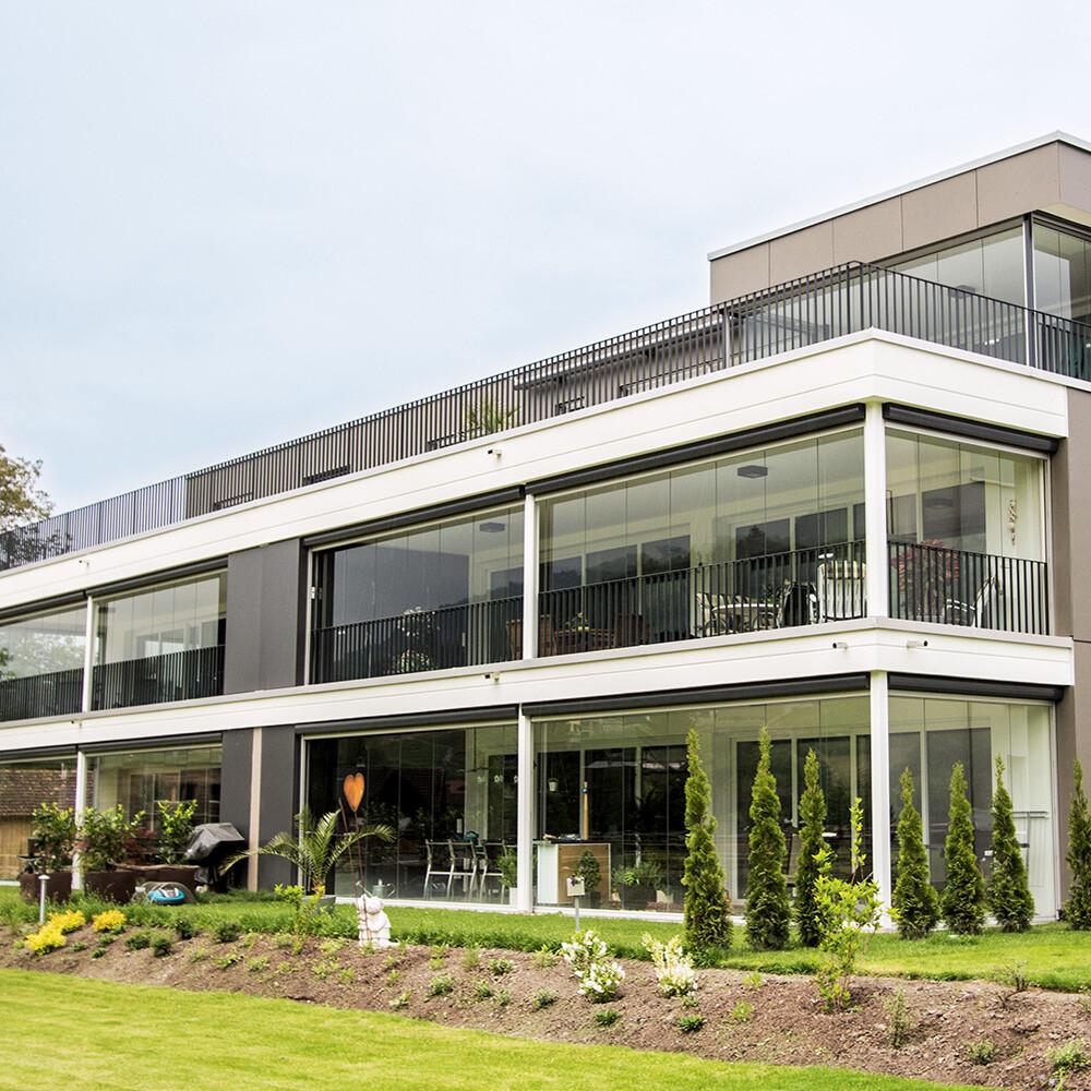 Lumon balcony facade systems