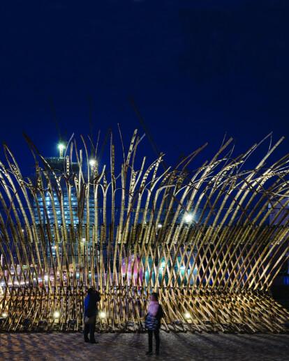 Bamboo Construct 2014 at Art Square, Salisbury Garden, Tsim Sha Tsui