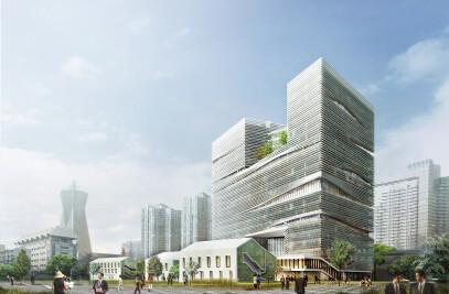 """'The Corner of Hangzhou"""" -- Zhejiang Printing Group Headquarter"""