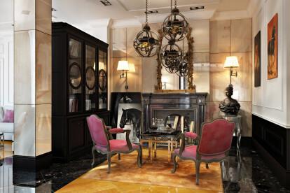 Ralph Lauren interior style