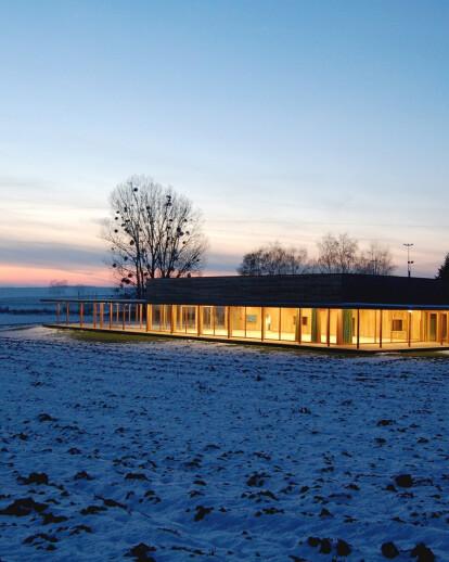 Village Hall of Hunspach
