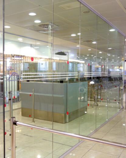 Extra Schengen area in Naples airport - Italy