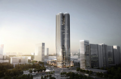 Bundle tower for Bank of China in Changyuan