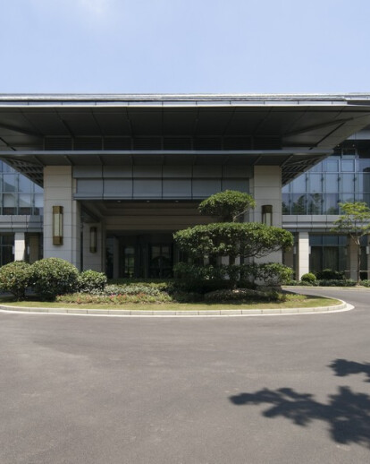 The expansion of Dongjiao State Guest Hotel