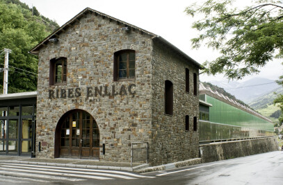 Train Store house in Ribes de Freser