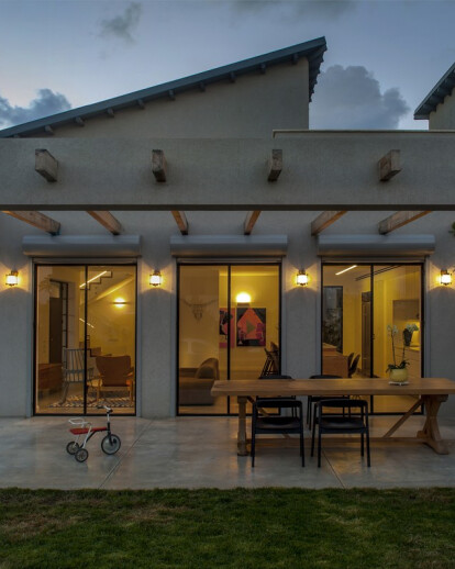 "A Modern ""Kibbutz"" House"
