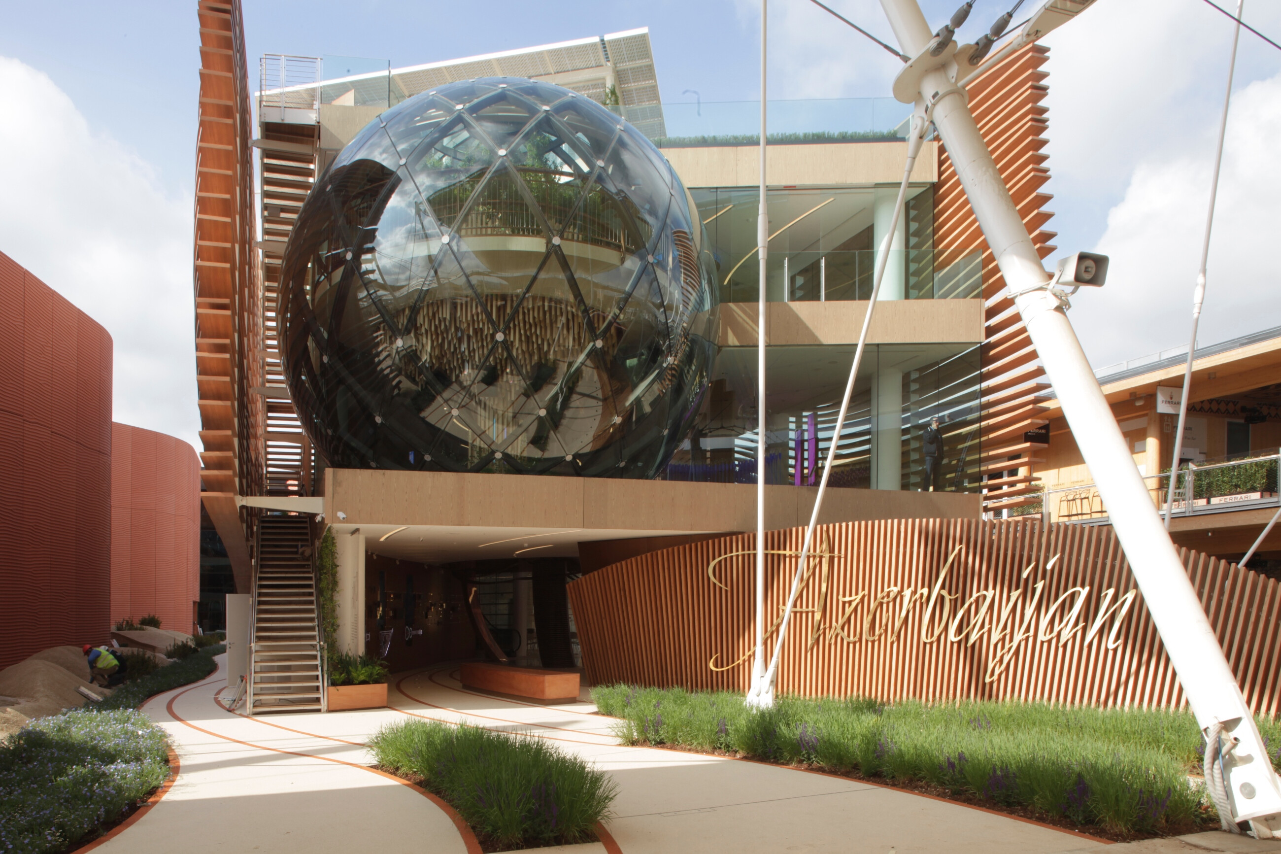 Azerbaijan Pavilion - Treasure Of Biodiversity For Expo Milano 2015