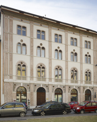 Restoration facades of Ranzi Palace