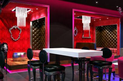 Blue Martini bar