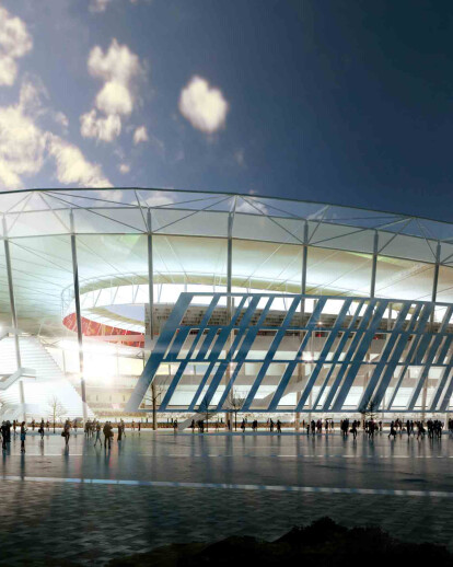 AS Roma unveils its new state-of-the-art football stadium
