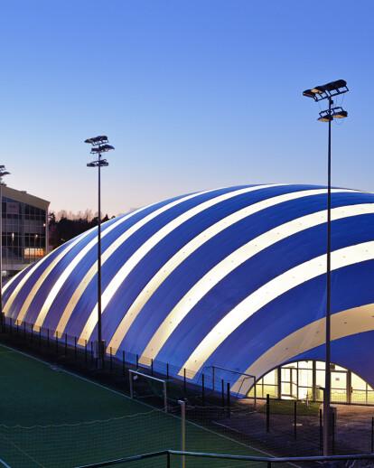 Junior Practice Hall for Töölö Football Field