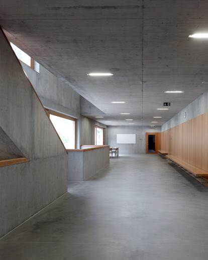 School complex in Chermignon, Switzerland