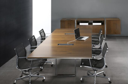 Highline Wood Conference Table